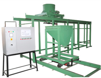 SAnd weighing and batching system
